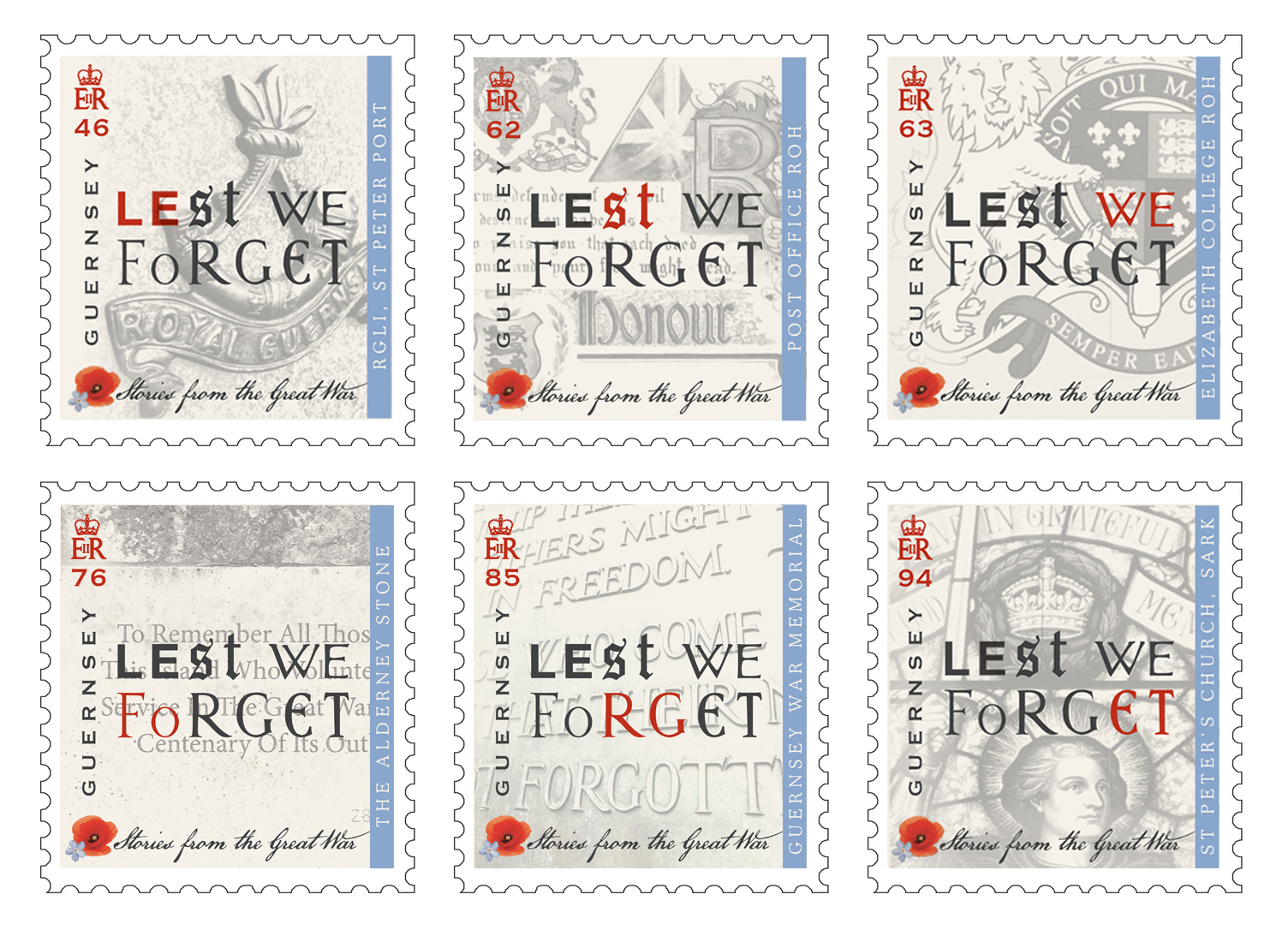 Guernsey Post Commemorates Centenary of The Great War with final stamps