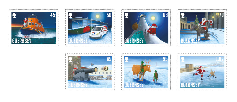 Guernsey Post gets festive with Bailiwick Stamps