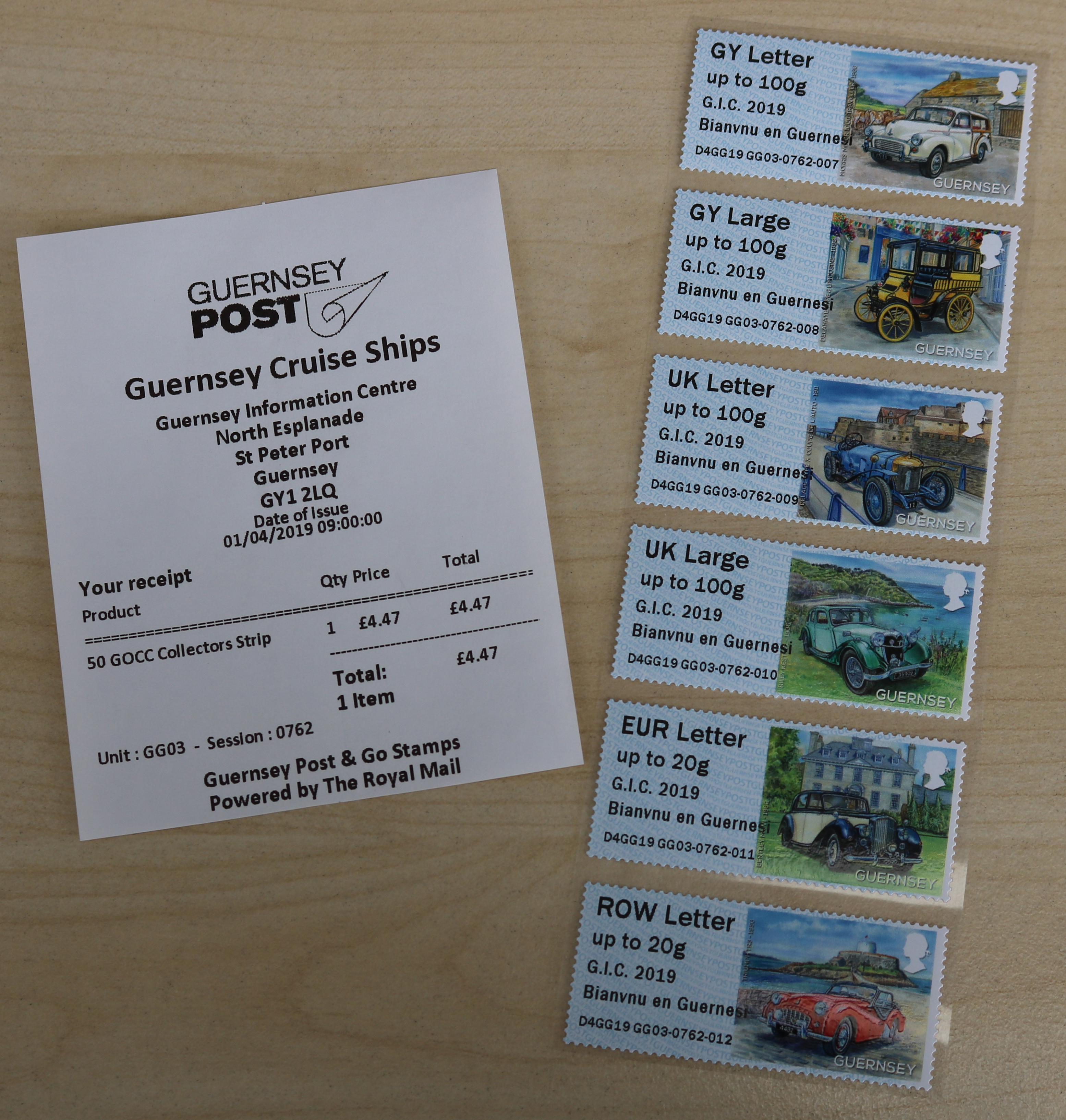 Guernsey Post to vend Post and Go stamps at Guernsey's Tourist Information Centre