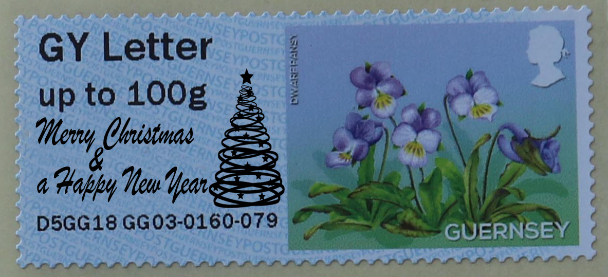 Christmas 2018 Post and Go Overprint