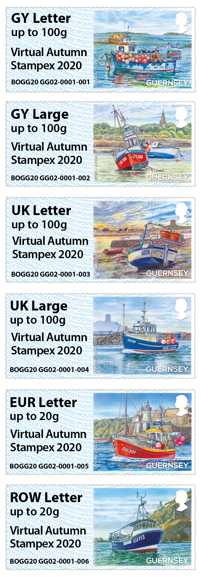 New Post and Go overprint for Virtual Stampex