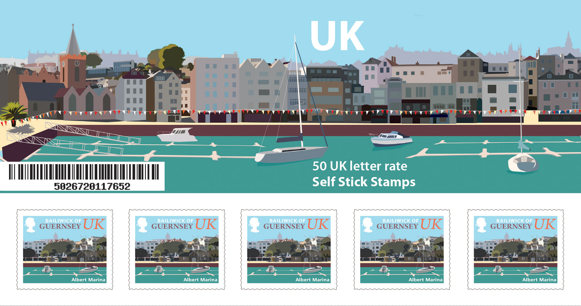 UK Booklet of 50