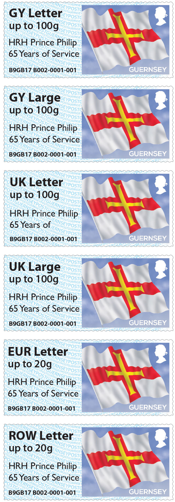Royal Overprint for Guernsey's Post & Go at Autumn Stampex