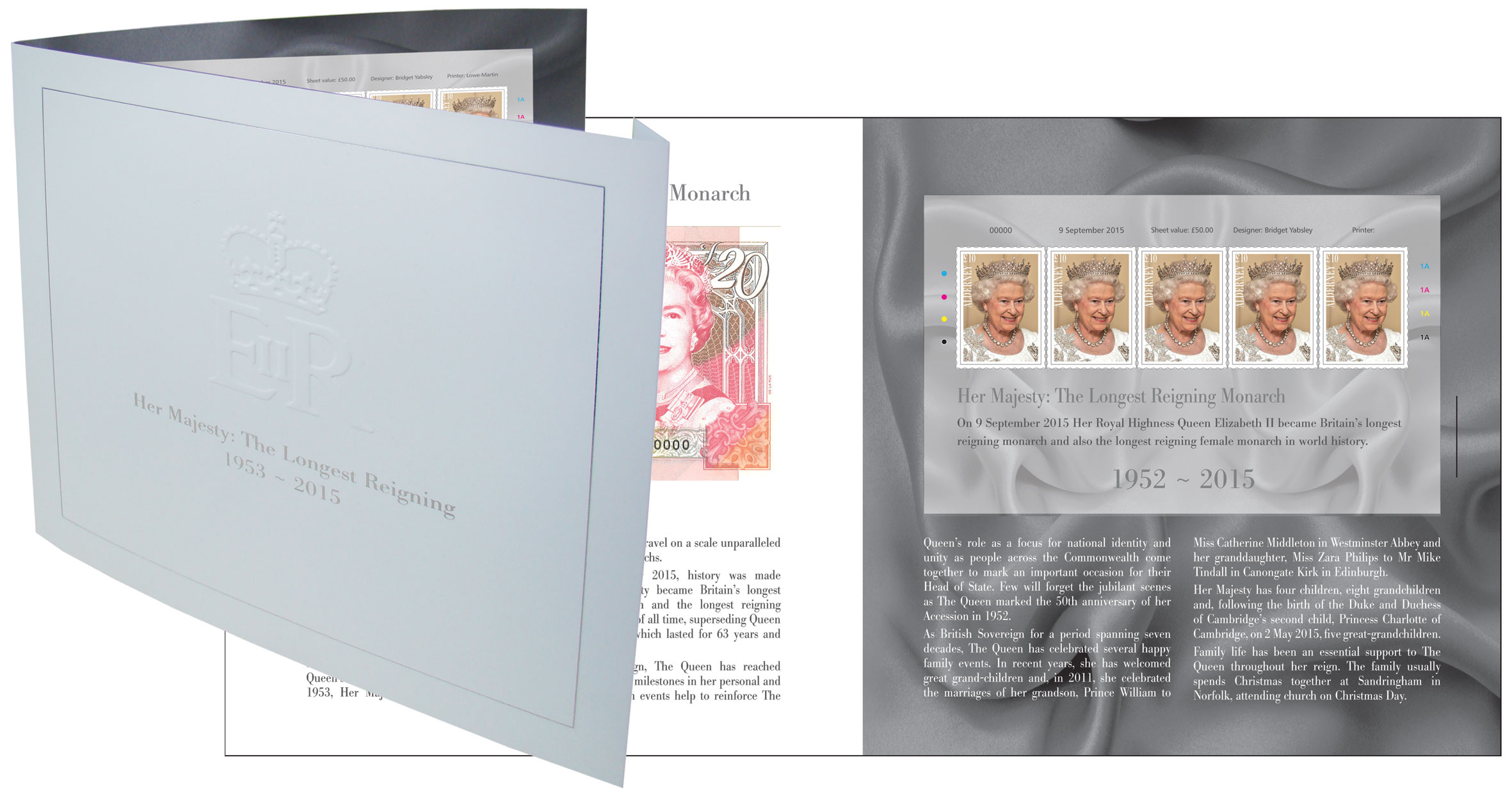 The Longest Reigning Monarch Limited Edition Souvenir Folder