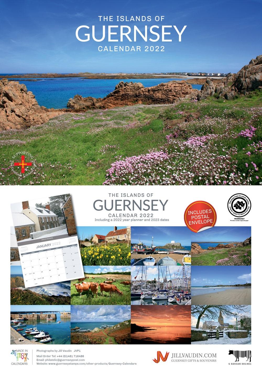 Guernsey A4 Calendar 2022