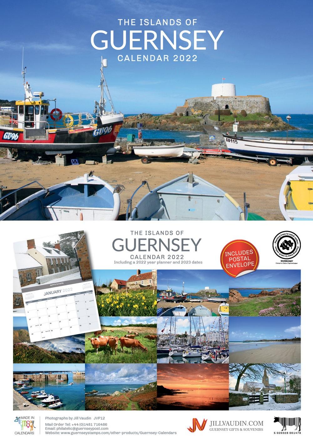 Guernsey A5 Calendar 2022