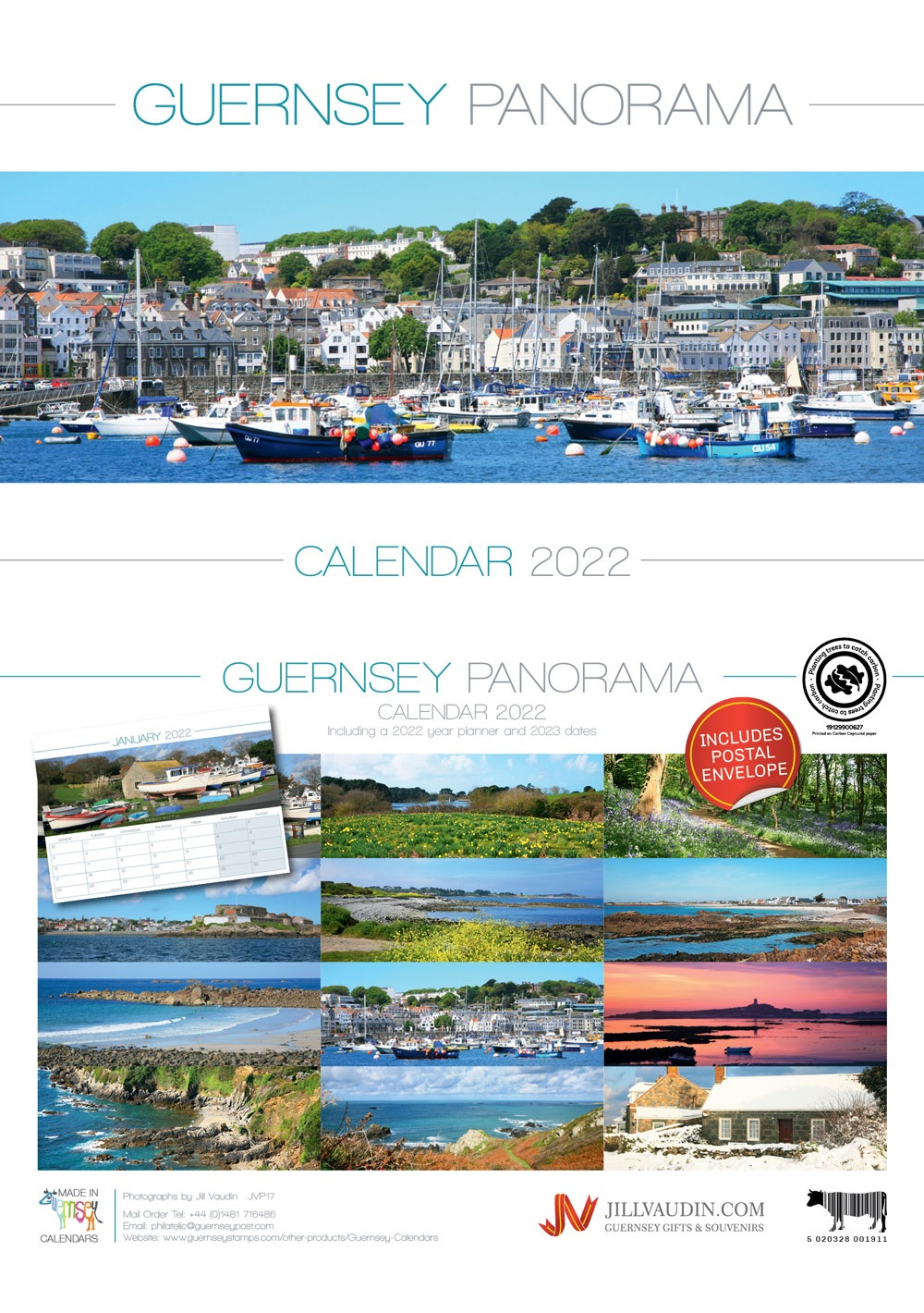 Guernsey Panorama Calendar 2022