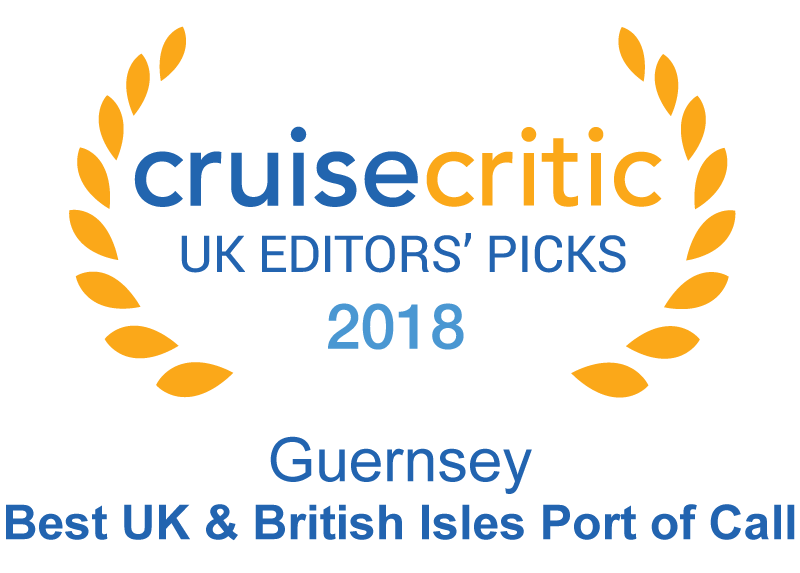 Guernsey wins the 'Best UK - British Isles Port of Call'