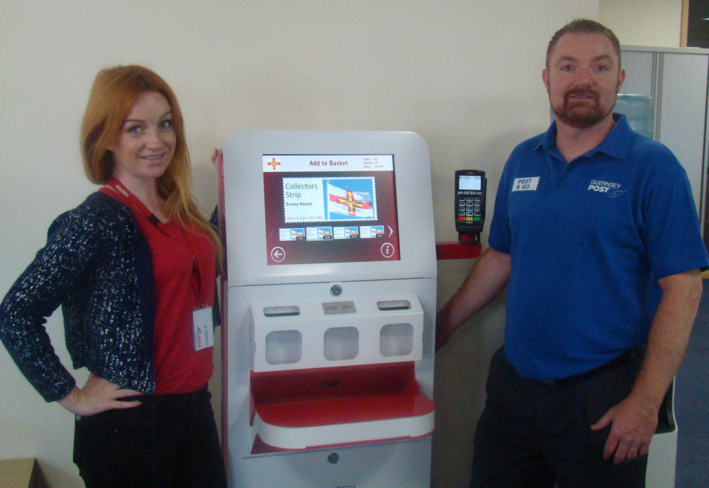 Post & Go Kiosk to be installed at Guernsey Post HQ
