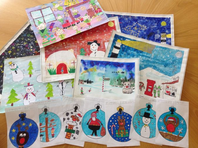 Christmas stamp designs 2014 - winners