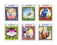 Stamps mark 150th Anniversary of Alice's Adventures in Wonderland