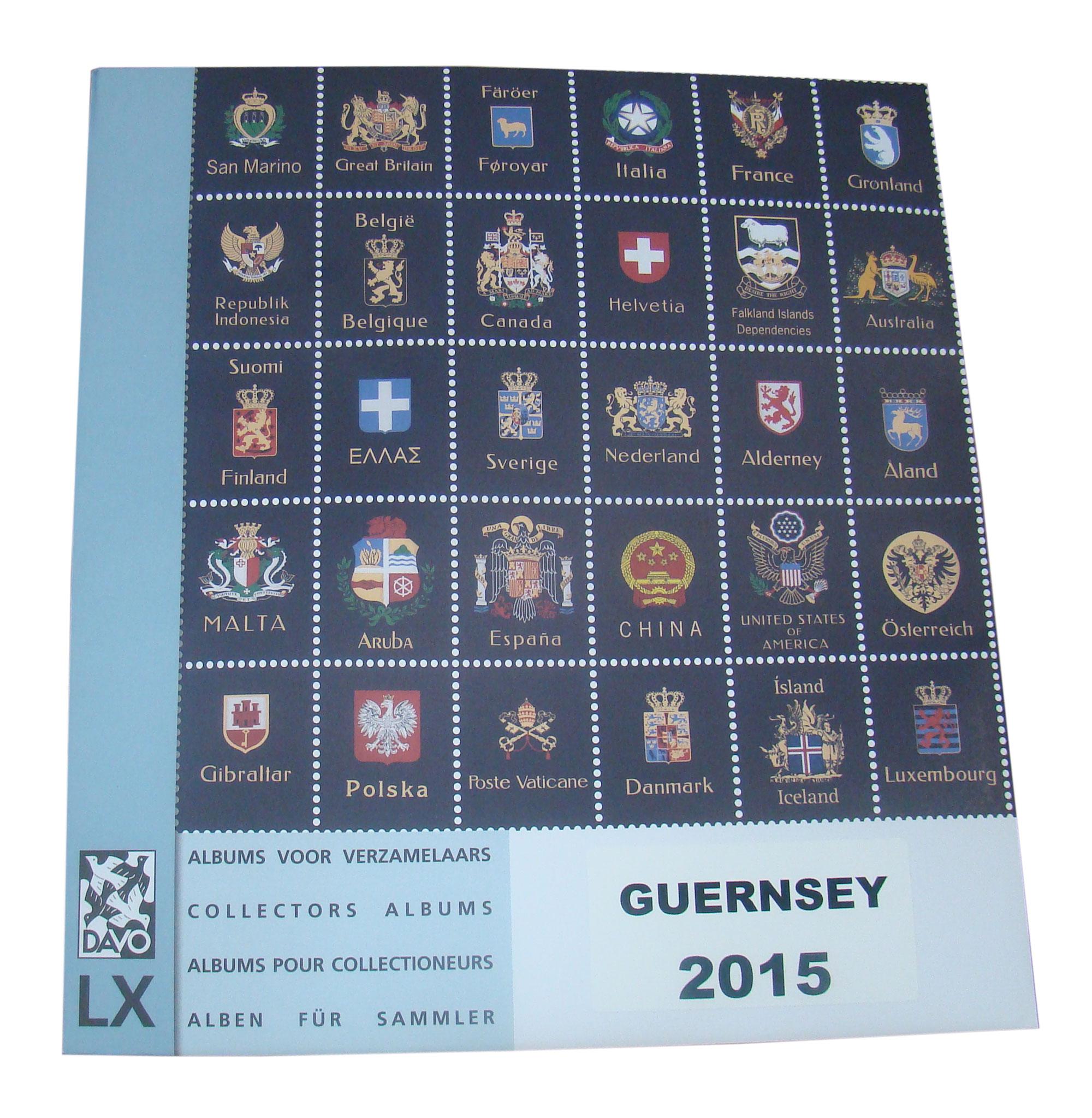 Guernsey 2015 Luxury Hingeless Supplement