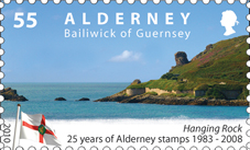 25 Years of Alderney Stamps Redenomination