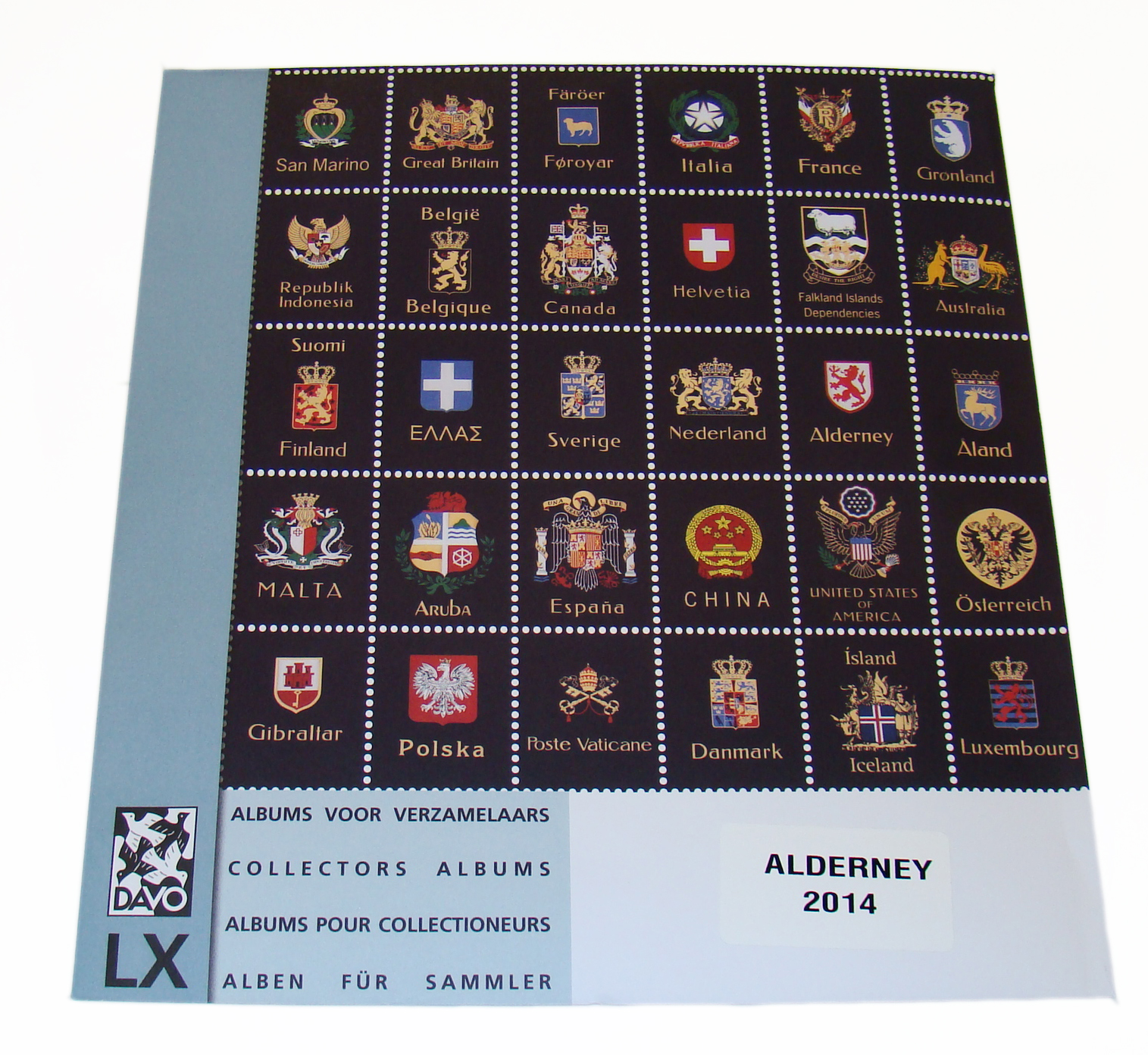 Alderney 2014 Luxury Hingeless Supplement