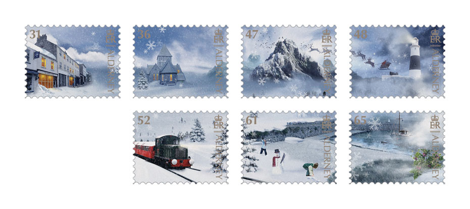 Set of Seven Stamps SOLD OUT