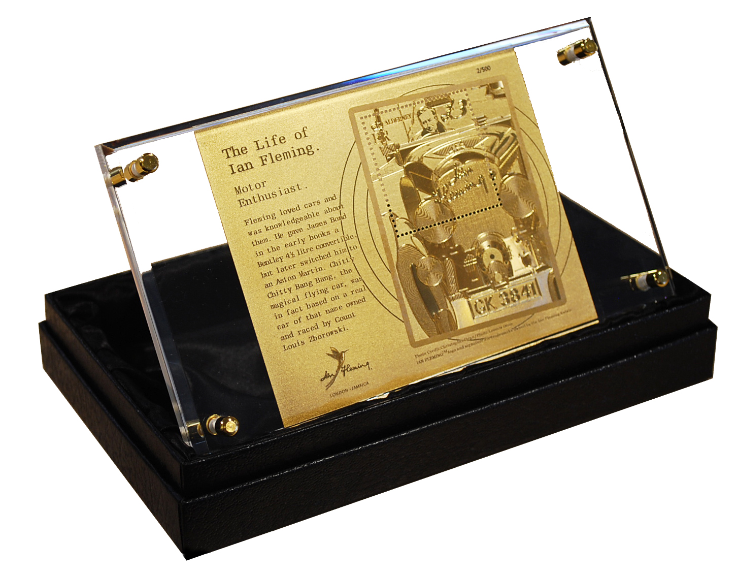 Gold Replica Miniature sheet (Limited Edition)