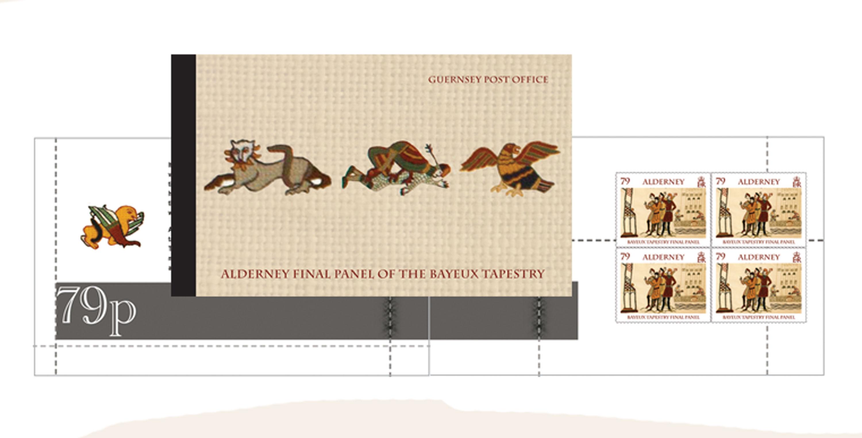 Alderney Final Panel of the Bayeux Tapestry Prestige Booklet