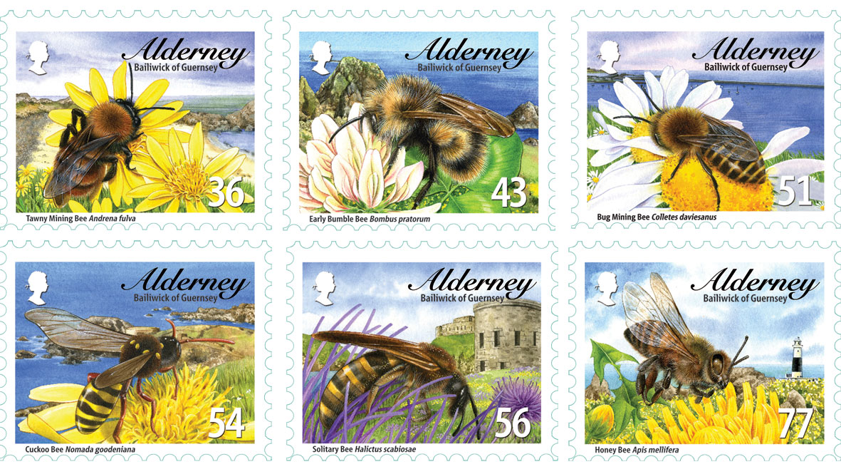 Alderney Bees