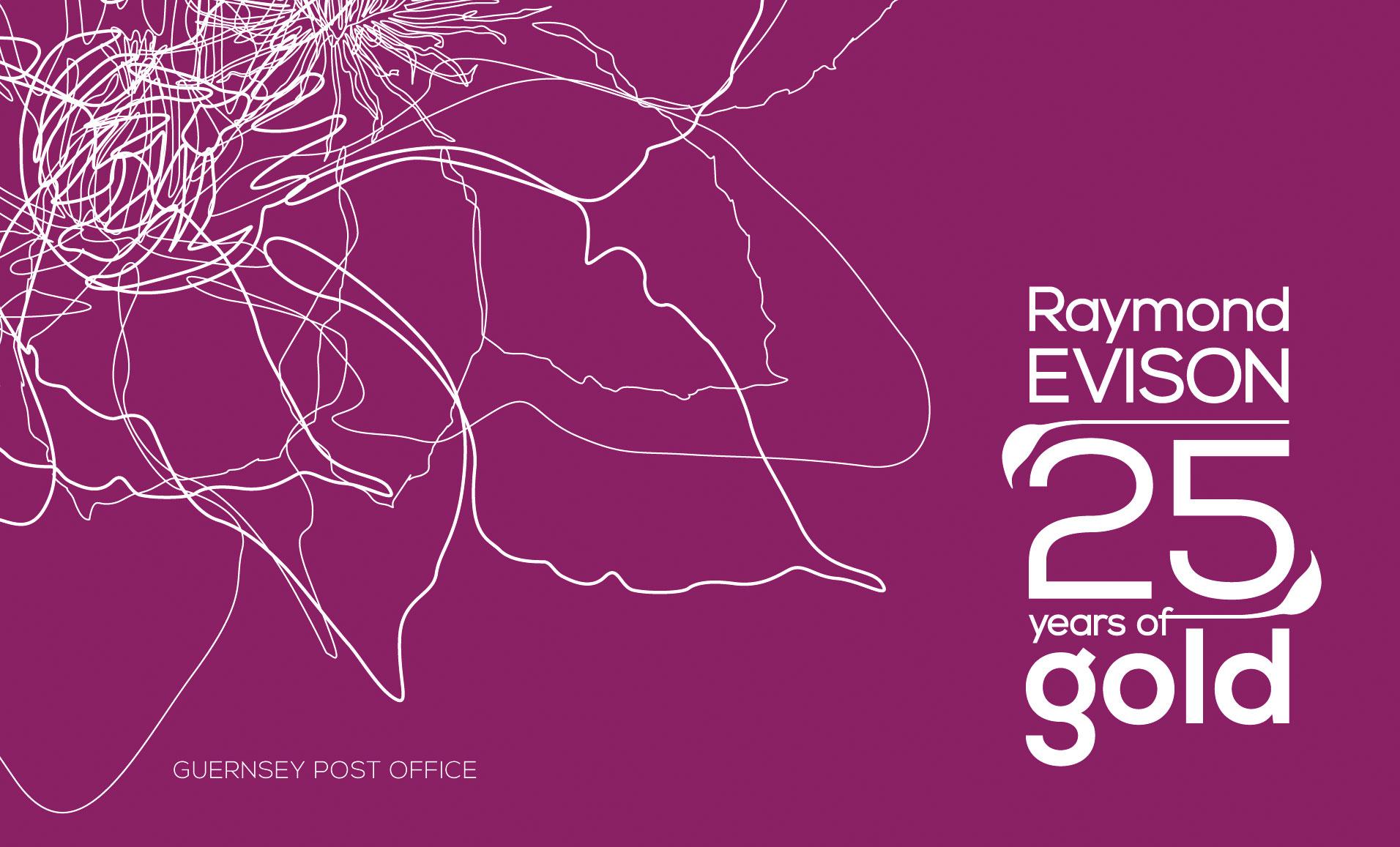 Raymond Evison - 25 years of Gold Prestige Booklet