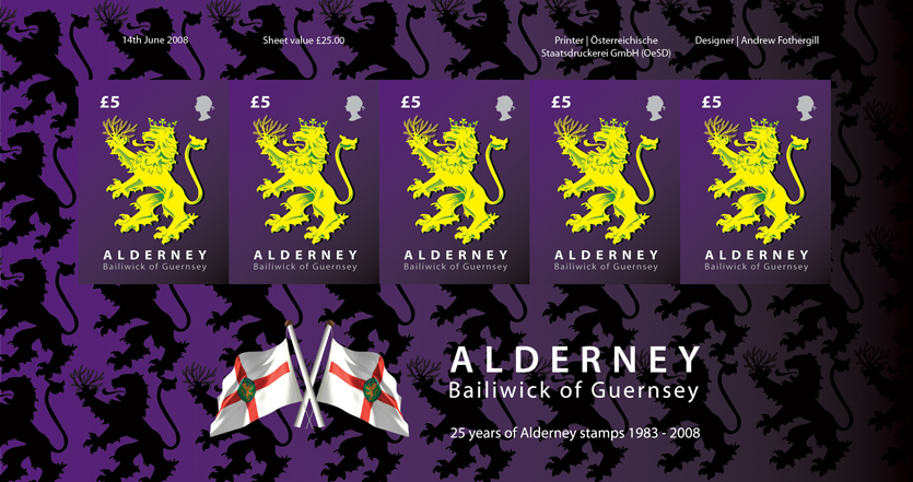25 Years of Alderney Stamps 1983 -2008