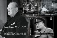 Guernsey Post commemorates the life of Winston Churchill