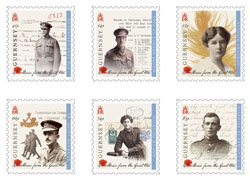 Guernsey Post issues World War One stamps