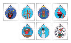 Presentation for Schoolchildren who put their stamp on Christmas