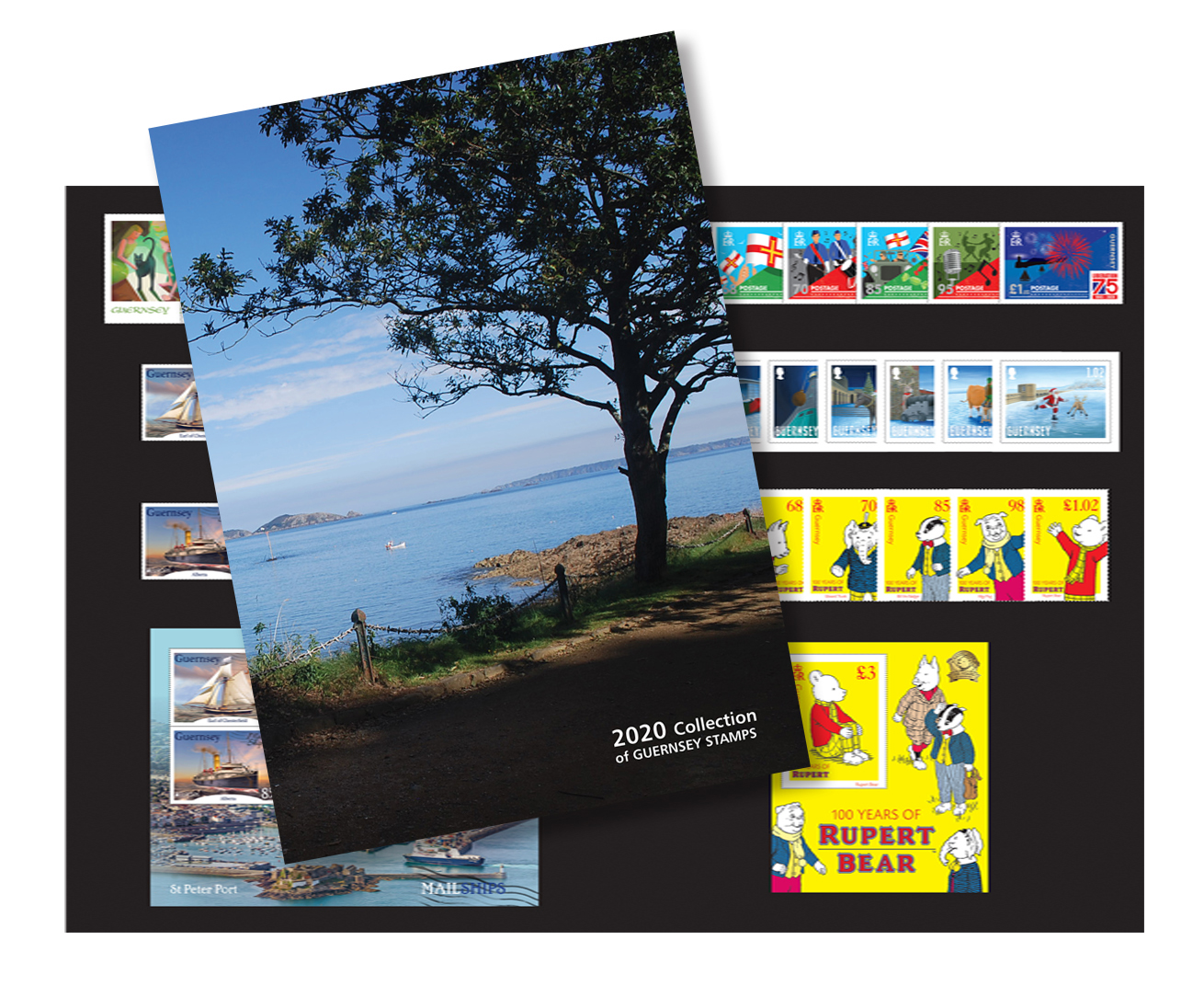 Guernsey Post launches Year Set Folders to celebrate this year's stamps